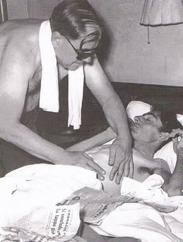 Fausto Coppi massage