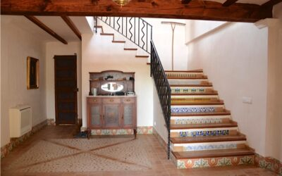 Inside the Campanet villa